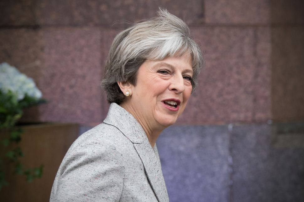 Lame Duck Prime Minister Theresa May Is Weighing Down Her Party