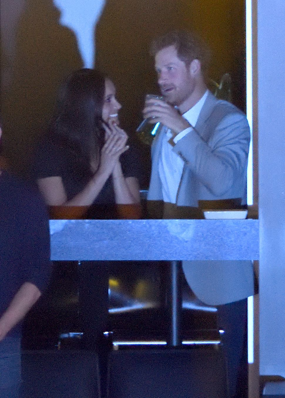 Prince Harry and Meghan Markle Were Caught Kissing in Toronto
