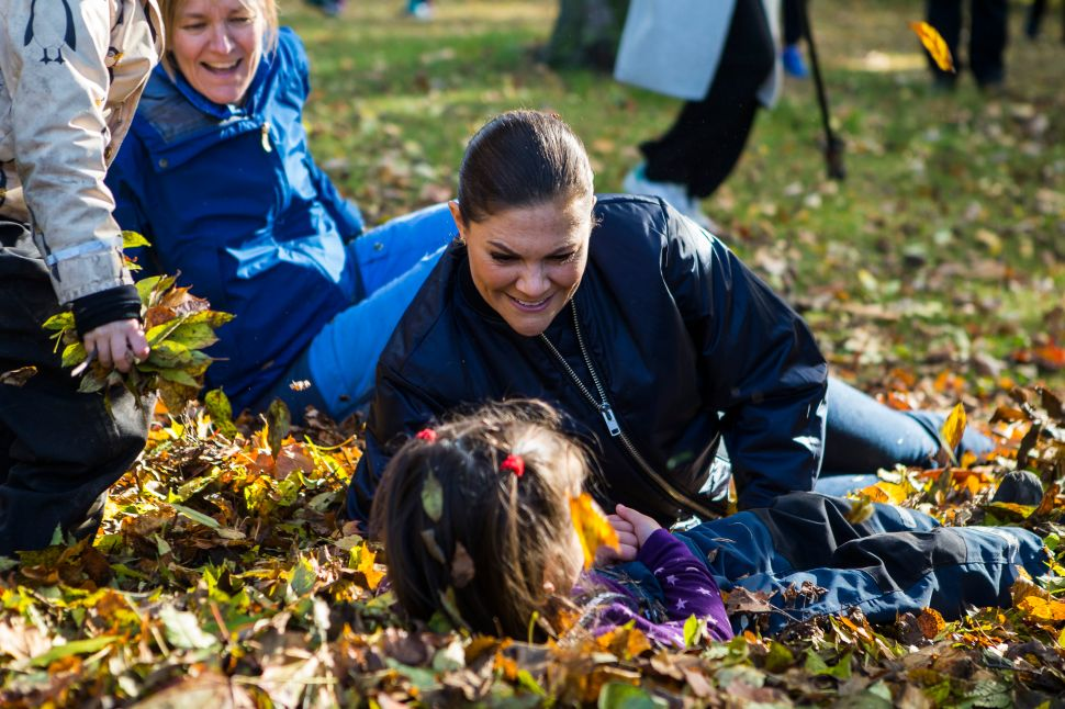 Princess Victoria of Sweden Isn't Afraid to Get Dirty