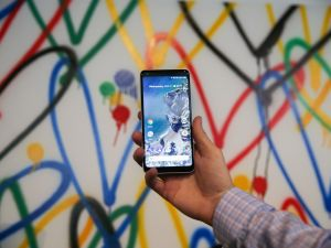 The new Google Pixel 2 XL.