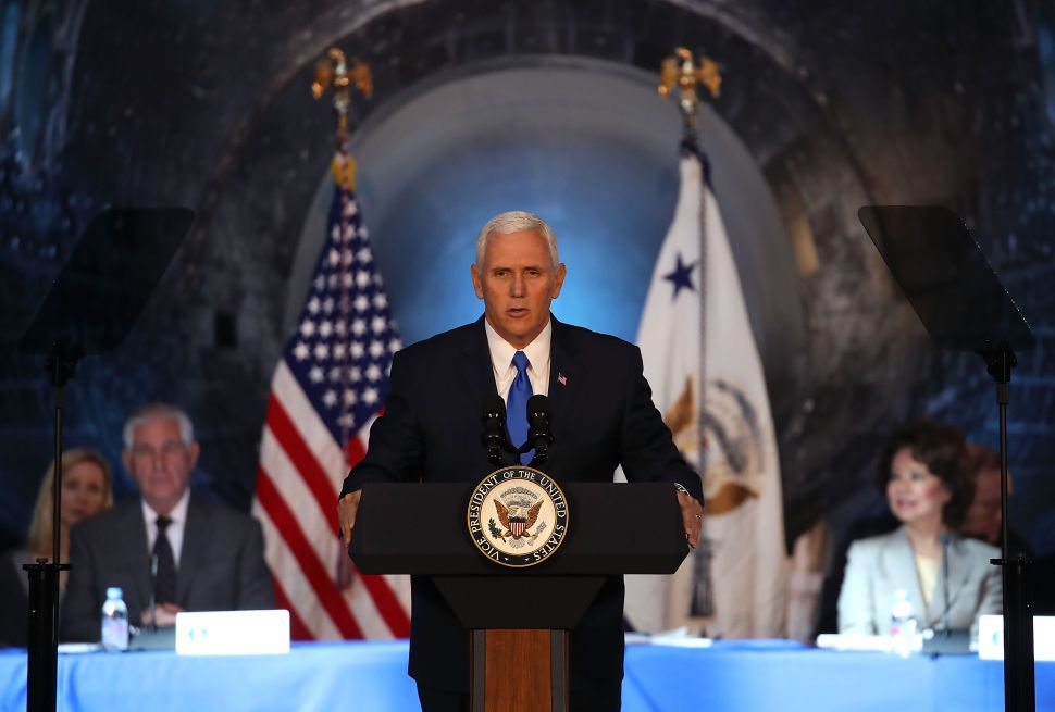 At Koch Donor Summit, Pence Argues Tax Reform Is Key to Unity