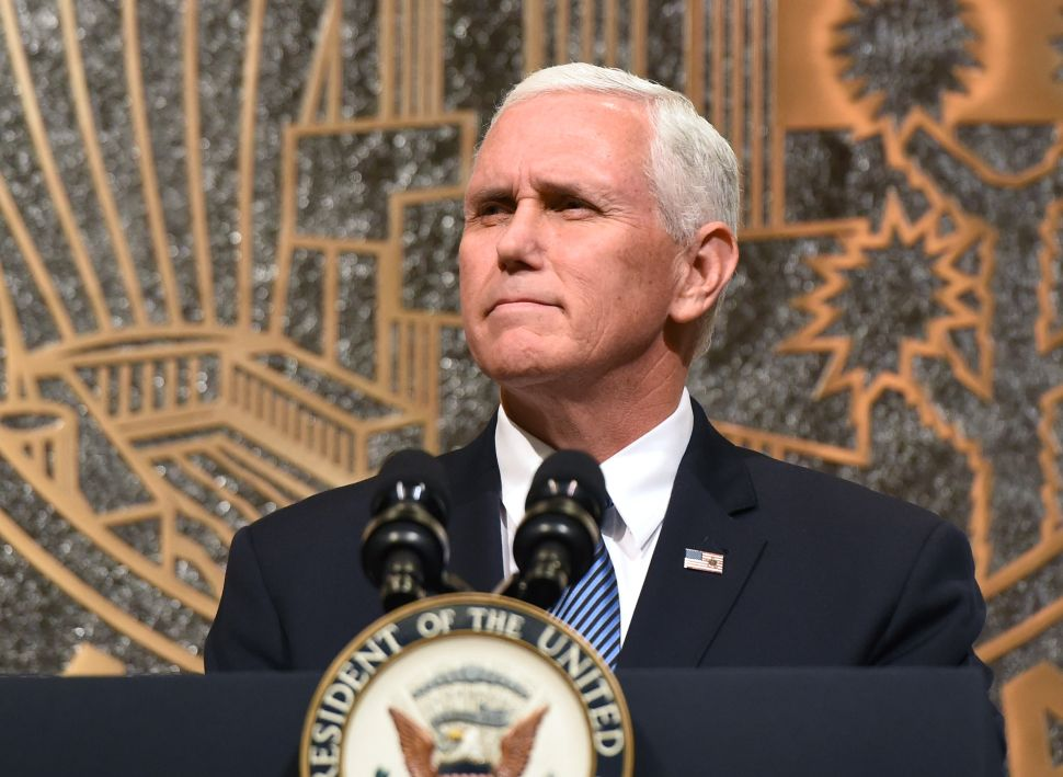 Pence's PR Walkout Stunt Cost Taxpayers Nearly $250k