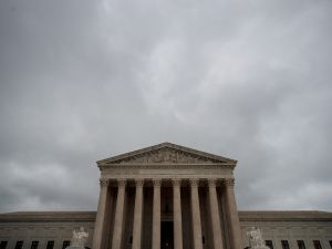 A view of the U.S. Supreme Court on October 11, 2017 in Washington, D.C.