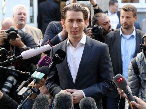 Newly elected Austrian Chancellor Sebastian Kurz.