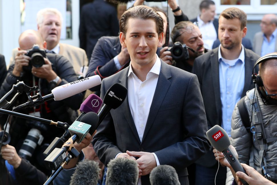 The New Austrian Chancellor Isn't a Populist—He's an Opportunist