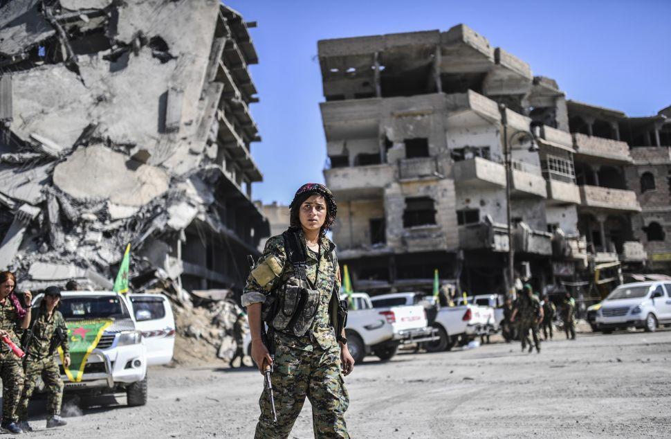 As ISIS Loses Raqqa, Iran Rears Its Ugly Head