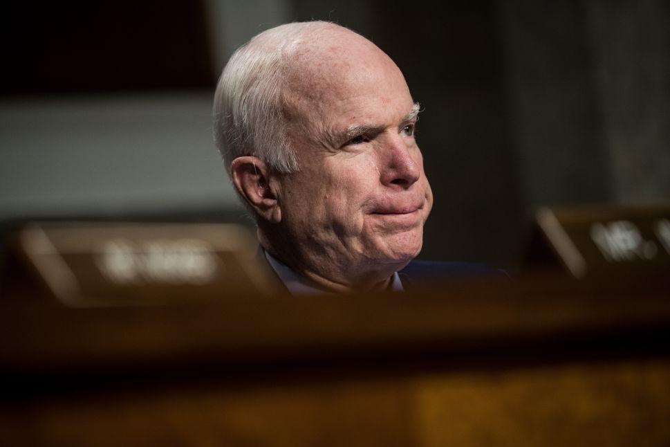 John McCain Releasing Memoir 'The Restless Wave' in April