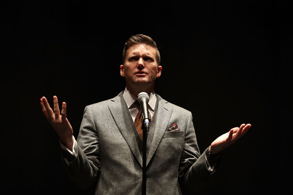In Florida, Free Speech Drowns Out Richard Spencer's Hate Speech