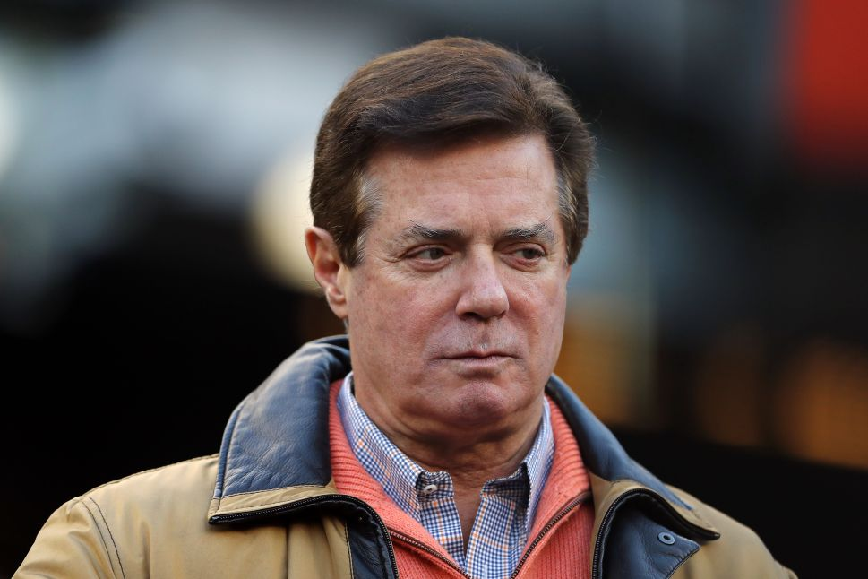 Paul Manafort Charged With 'Conspiracy Against the United States'