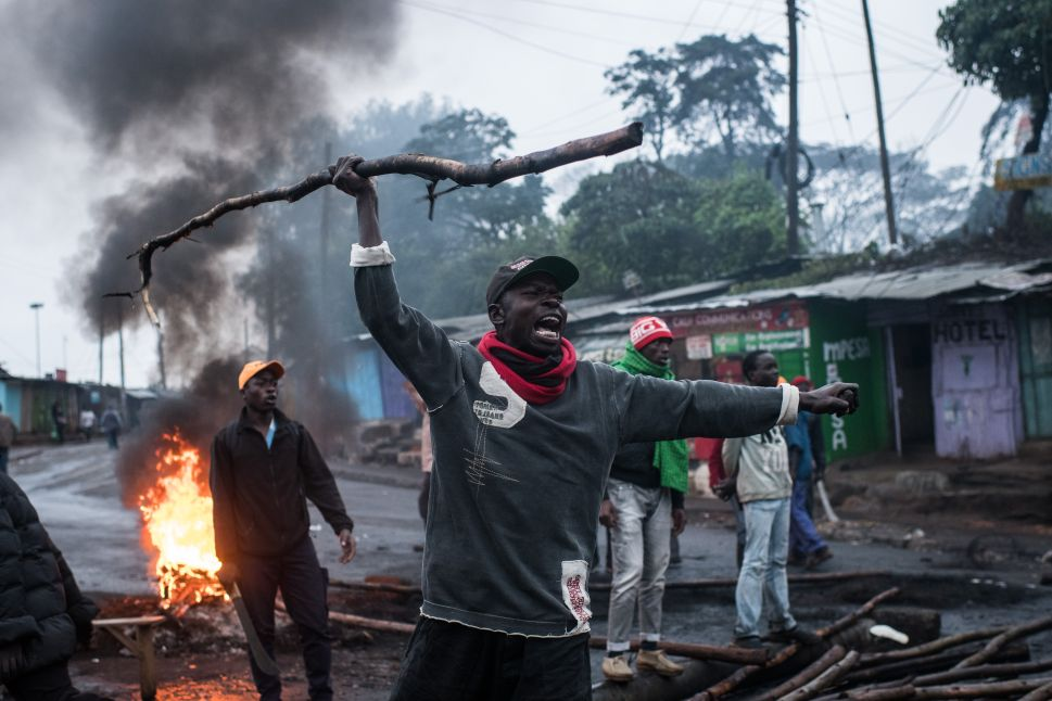 Kenya Sinks Into Chaos as Election Redo Causes Violent Contest