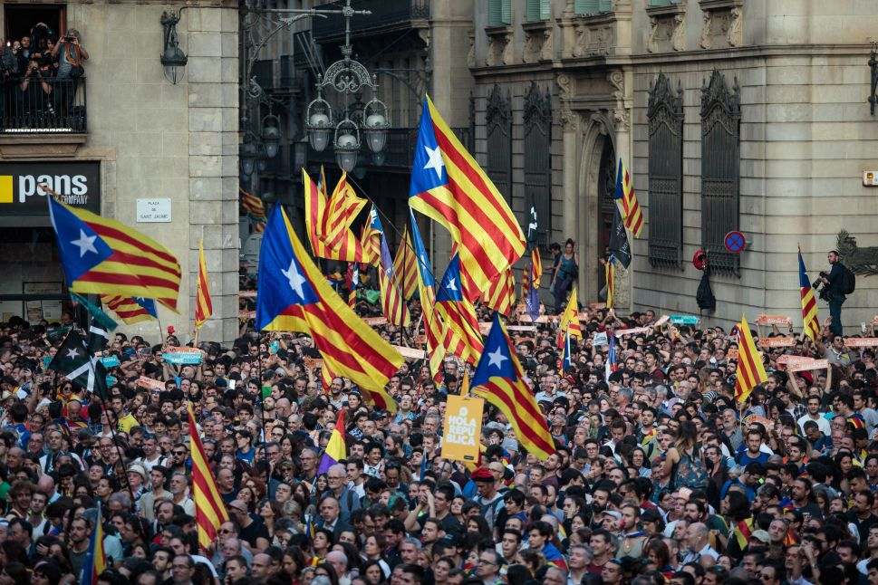 Catalan Parliament Declares Independence, Spain Approves Emergency Takeover