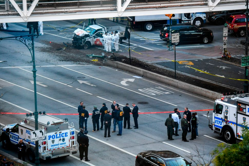 'Act of Terror' Leaves 8 Dead in New York City, Officials Say