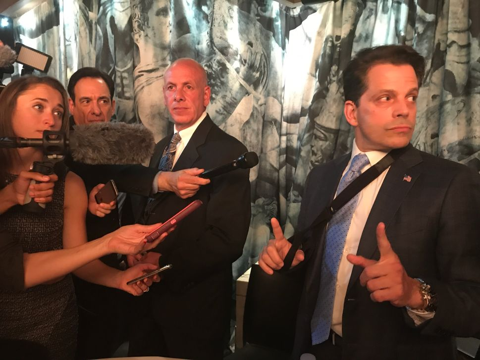 The Mooch Revels in Post-White House Fame at The Scaramucci Post 'Launch Party'