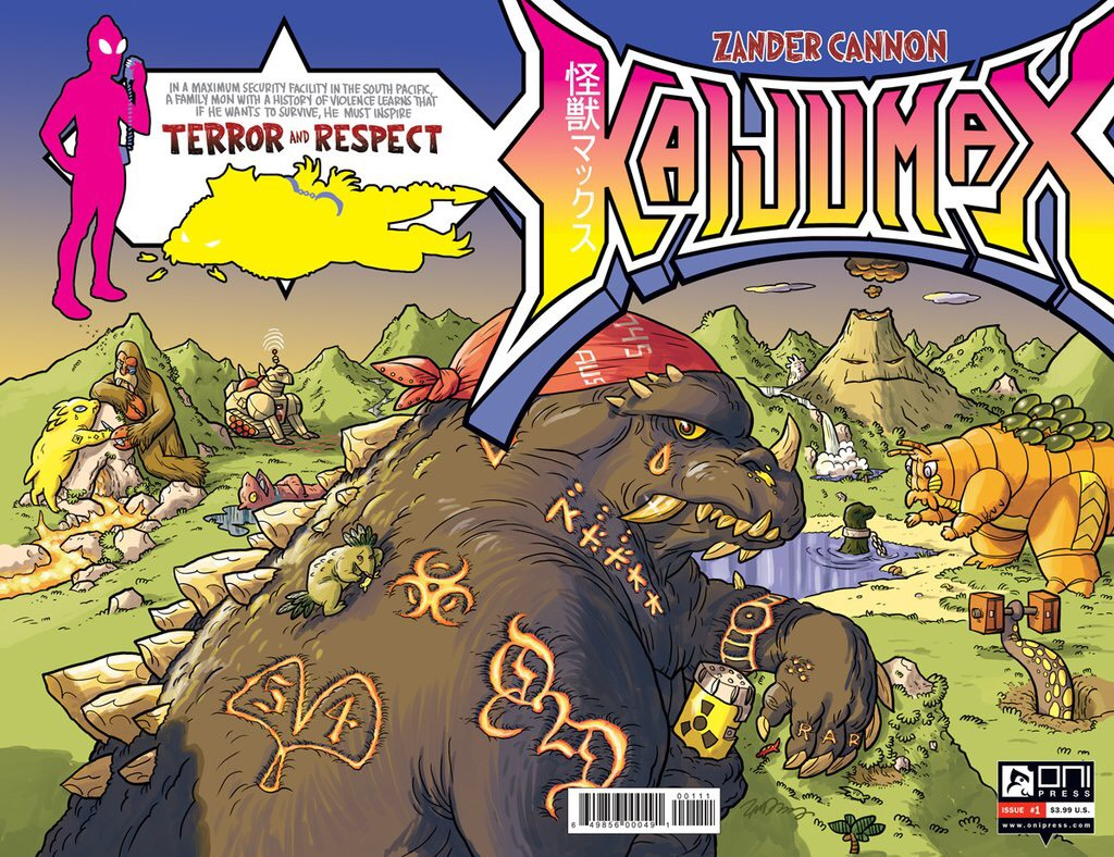 Comic Review: 'Kaijumax' Is a Colorful, Jarring Glimpse Into Prison |  Observer