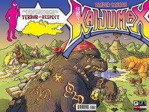 Kaijumax drawn by Zander Cannon.