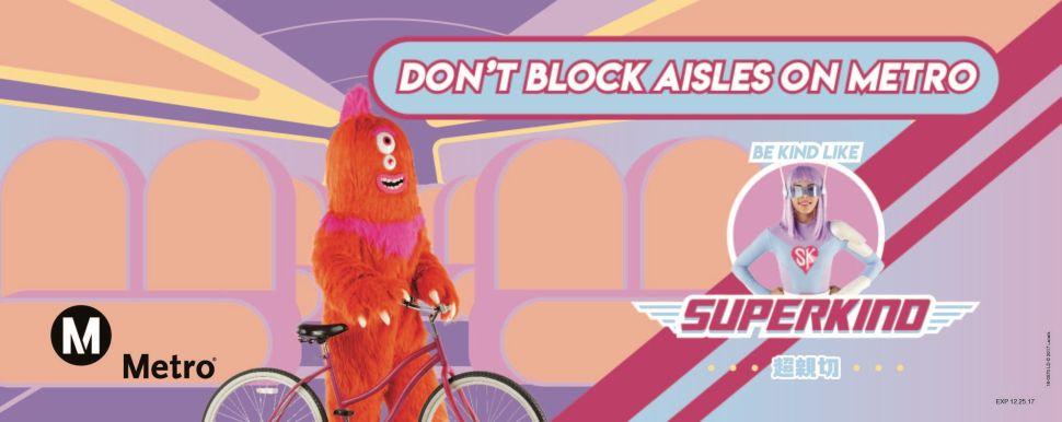 LA Metro Promotes Transit Etiquette With Bizarre Superhero PSAs