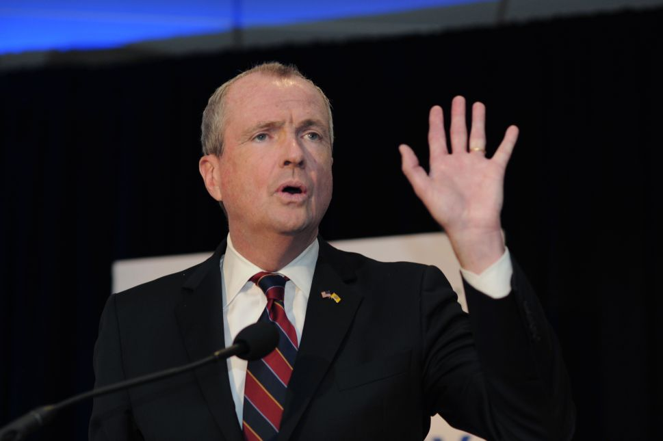 New Jersey Gov. Phil Murphy: Yes, I've Smoked Pot 'Once or Twice'