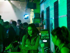 Carly Chaikin as Darlene in Mr. Robot.