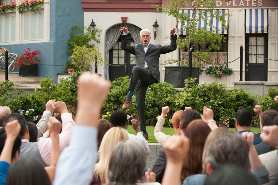 Here's What We Know About the Mysterious Townspeople of 'The Good Place'