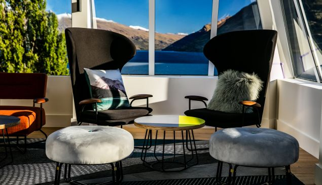 Here's where to relax in 2017, starting with QT Queenstown.
