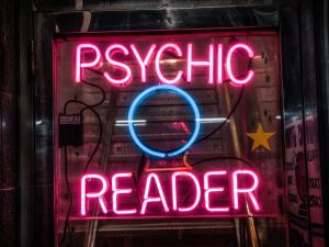 A psychic can only tell you so much.