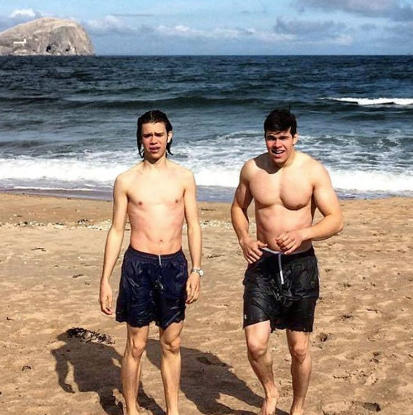 Queen Elizabeth's Grandnephew Has Perfected the Art of the Thirst Trap