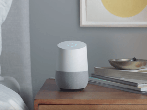 An ad for Google Home.