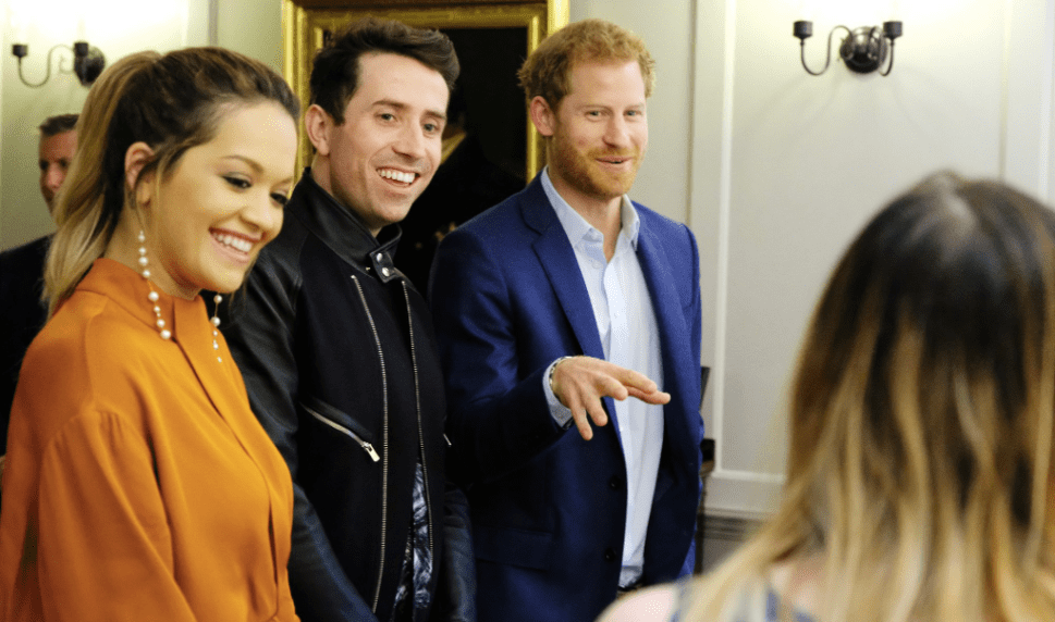 Why Was Prince Harry Hanging Out With Rita Ora?