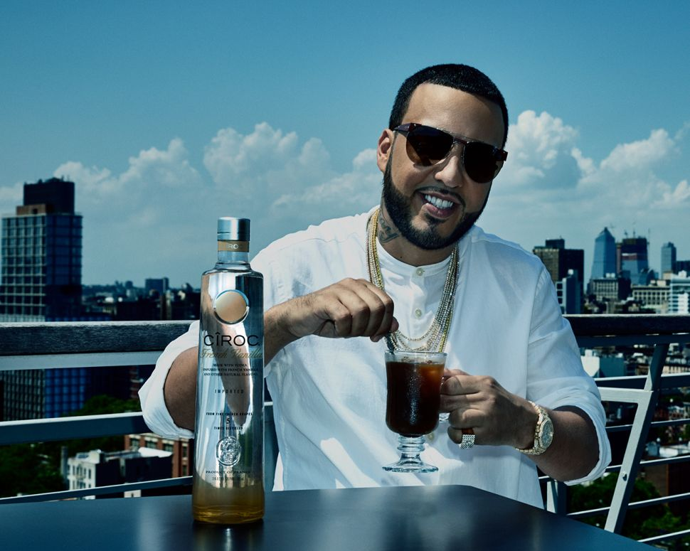 French Montana Does Face Masks With Diddy and Drinks Coffee With Cîroc