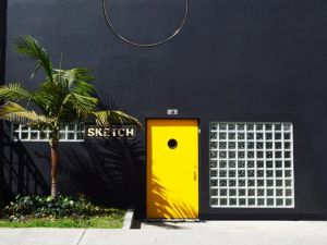Exterior of Sketch gallery in Bogota.