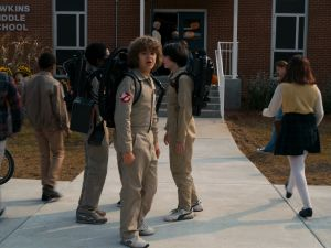 You could even go as one of the kids from Stranger Things, dressed as a Ghostbusters character.