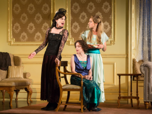 Elizabeth McGovern, Brooke Bloom and Charlotte Parry in Time and the Conways.