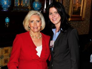 Lilly Ledbetter, left, and Queens Councilwoman Elizabeth Crowley, right, at the Women's Campaign Fund 32nd Annual Parties of Your Choice Gala.