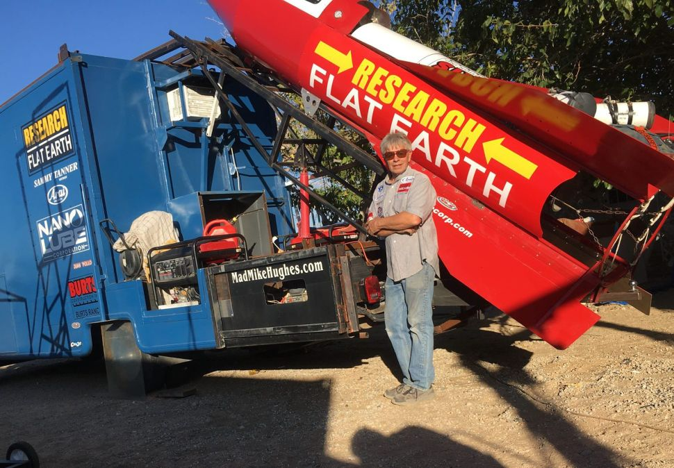 All the Ways This Flat Earther's Upcoming Homemade Rocket Launch Could Fail