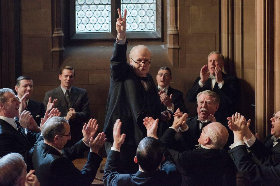 Gary Oldman's Phenomenal Performance Keeps 'Darkest Hour' Airborne