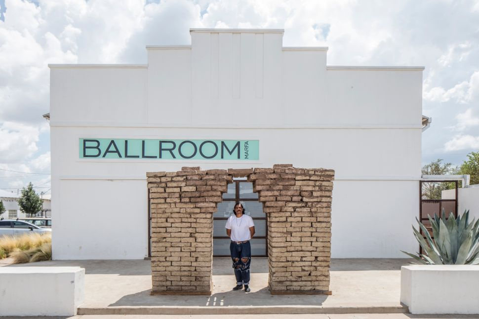 Artist Rafa Esparza Honors Latino Labor in Marfa, Texas