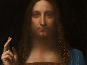 Da Vinci's Salvator Mundi is up for sale on November 15 at Christie's.