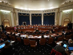 Members of the House Ways and Means Committee hold the first markup of the proposed GOP tax reform legislation in the Longworth House Office Building on Capitol Hill.