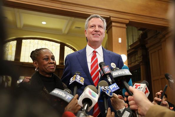 Bill de Blasio Wins Second Term as Mayor of New York City