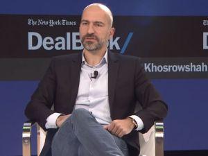 Dara Khosrowshahi at The New York Times Dealbook conference.