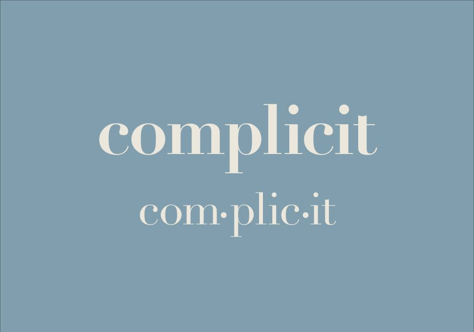 'Complicit' Is 2017 Word of the Year, According to Dictionary.com