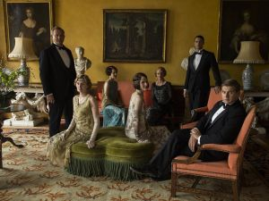 The main cast of Downton Abbey.