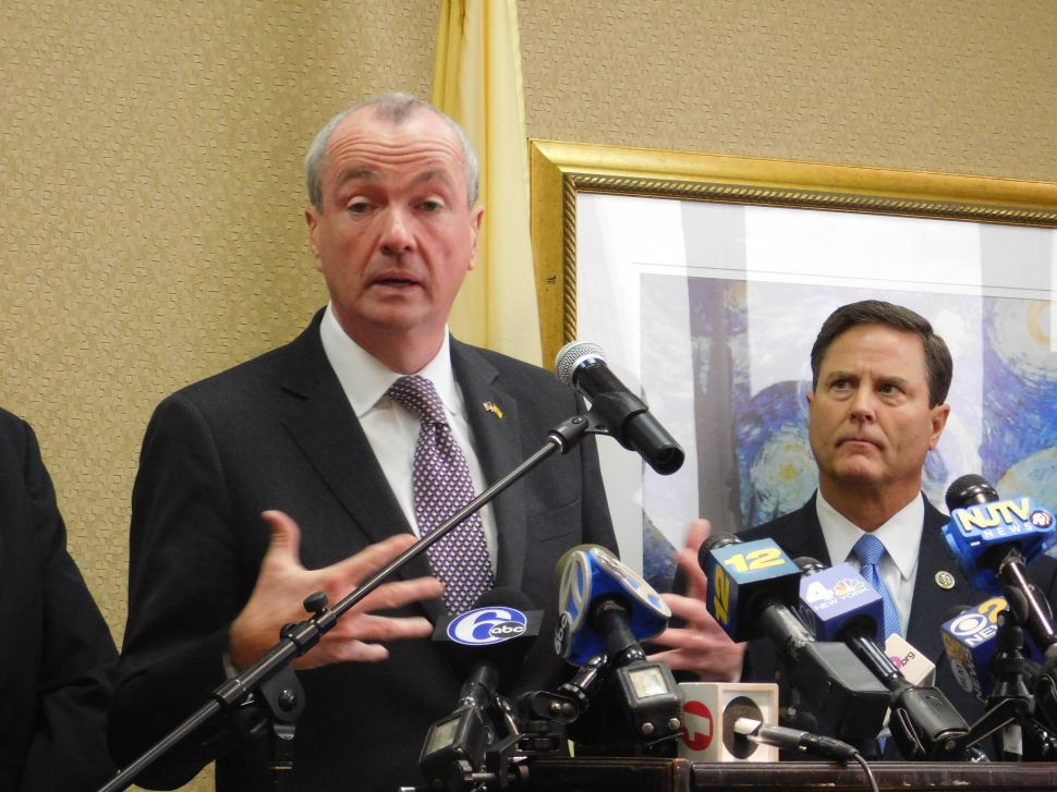 Gov. Phil Murphy Meets With Congressional Delegation Before Chamber Speech
