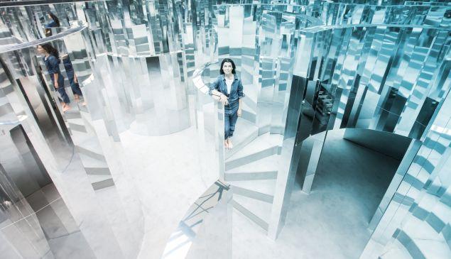 Es Devlin's Mirror Maze.