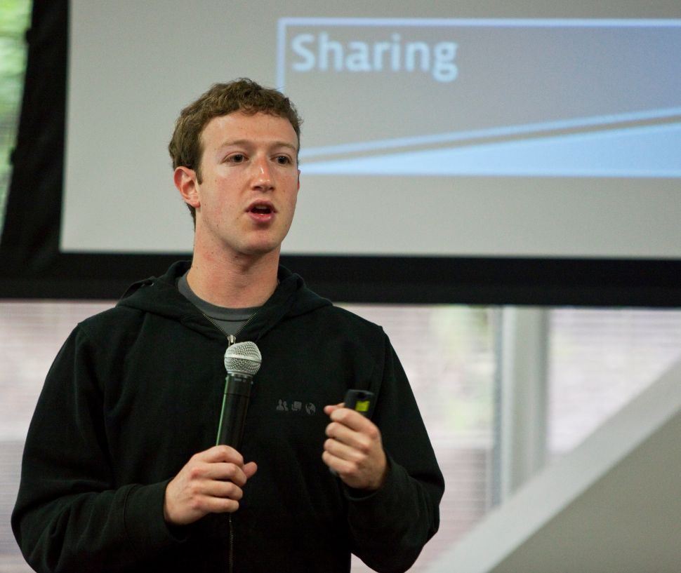 Mark Zuckerberg Promises Radical Ad Transparency as Facebook Profit Rockets