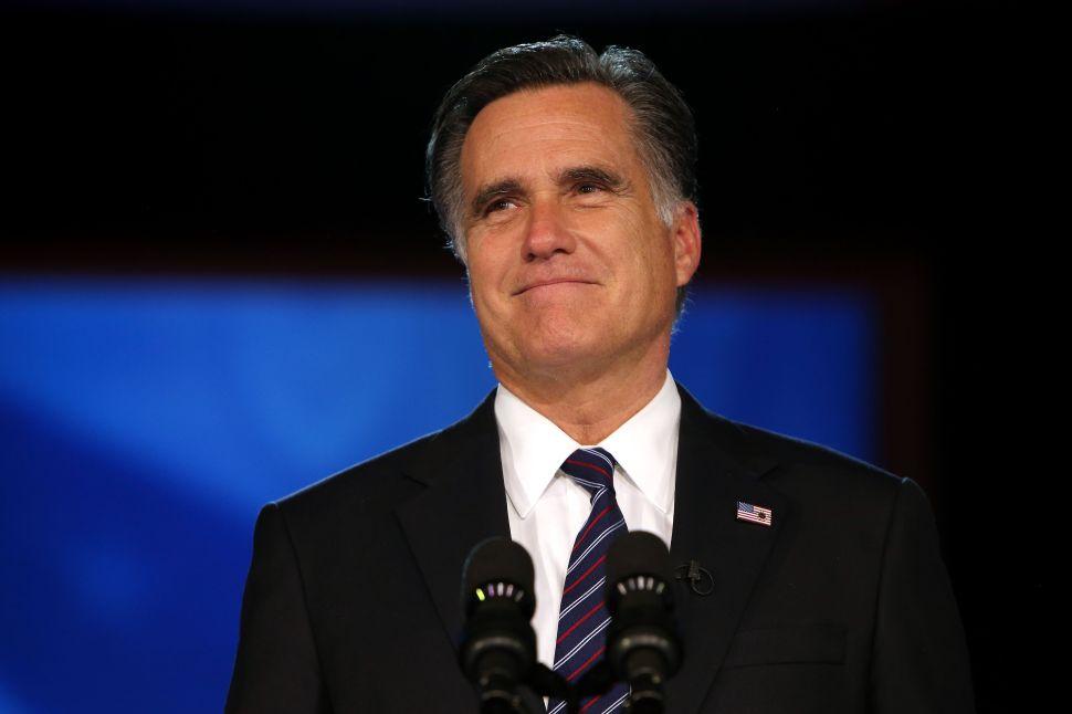 Is Mitt Romney Eyeing a 2018 Senate Run?