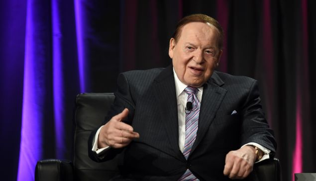 Las Vegas Sands Corp. Chairman and CEO Sheldon Adelson.