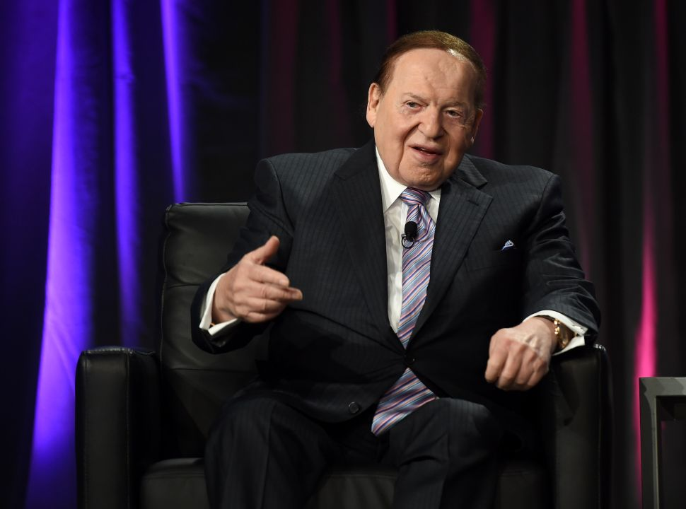 GOP Megadonor Sheldon Adelson Severs Ties With Steve Bannon