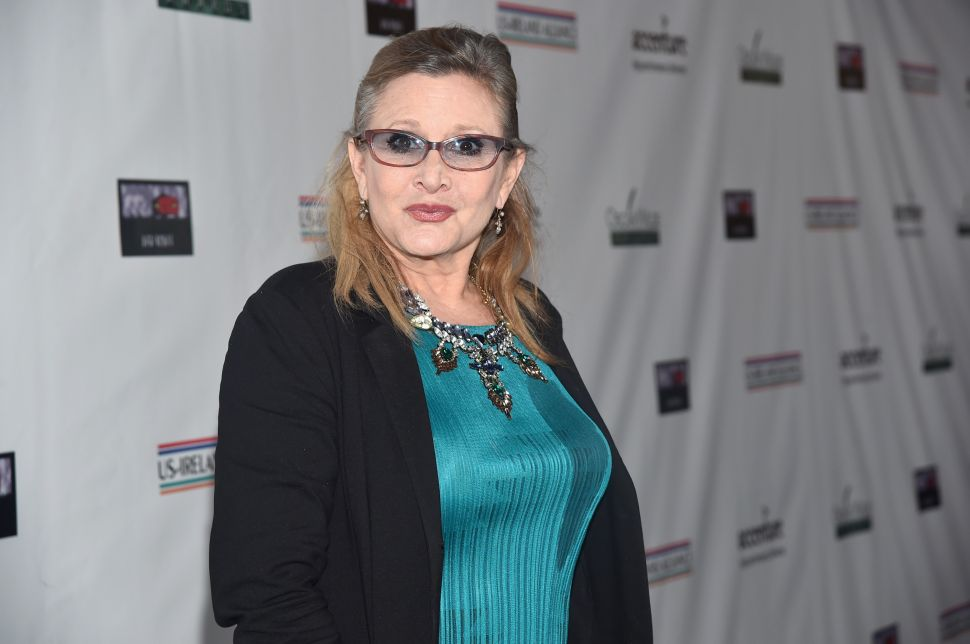 Carrie Fisher Will Appear on Tonight's 'Family Guy'