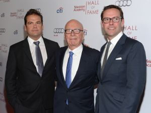 Lachlan Murdoch offered a peek into the company's vision to concentrate efforts on core assets.